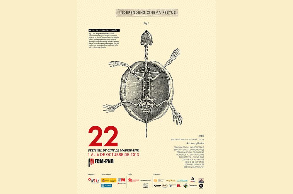 Presentación de la identidad gráfica del 22º Festival de Cine de Madrid-PNR