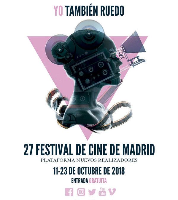 El Festival de Cine de Madrid presenta el cartel de su 27ª edición bajo el lema «Yo también ruedo»