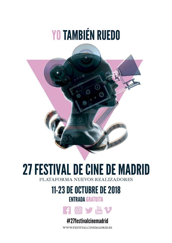 """El Festival de Cine de Madrid presenta el cartel de su 27ª edición bajo el lema """"Yo también ruedo"""""""