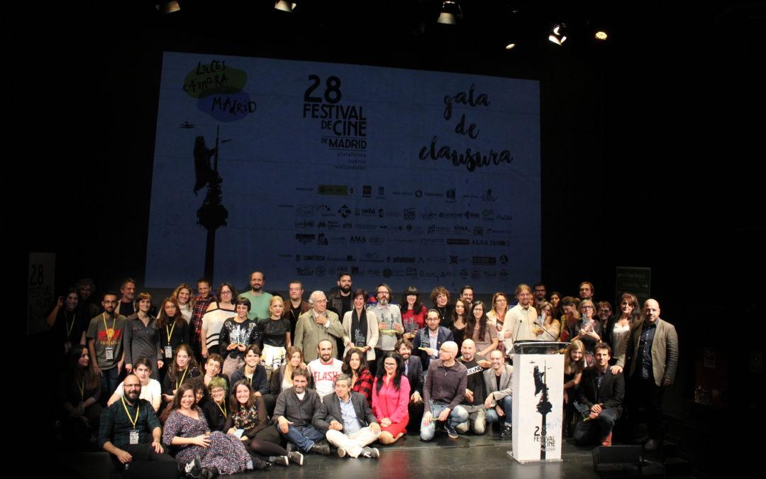 El Festival de Cine de Madrid celebra su gala de clausura entregando 22 premios y 5 menciones