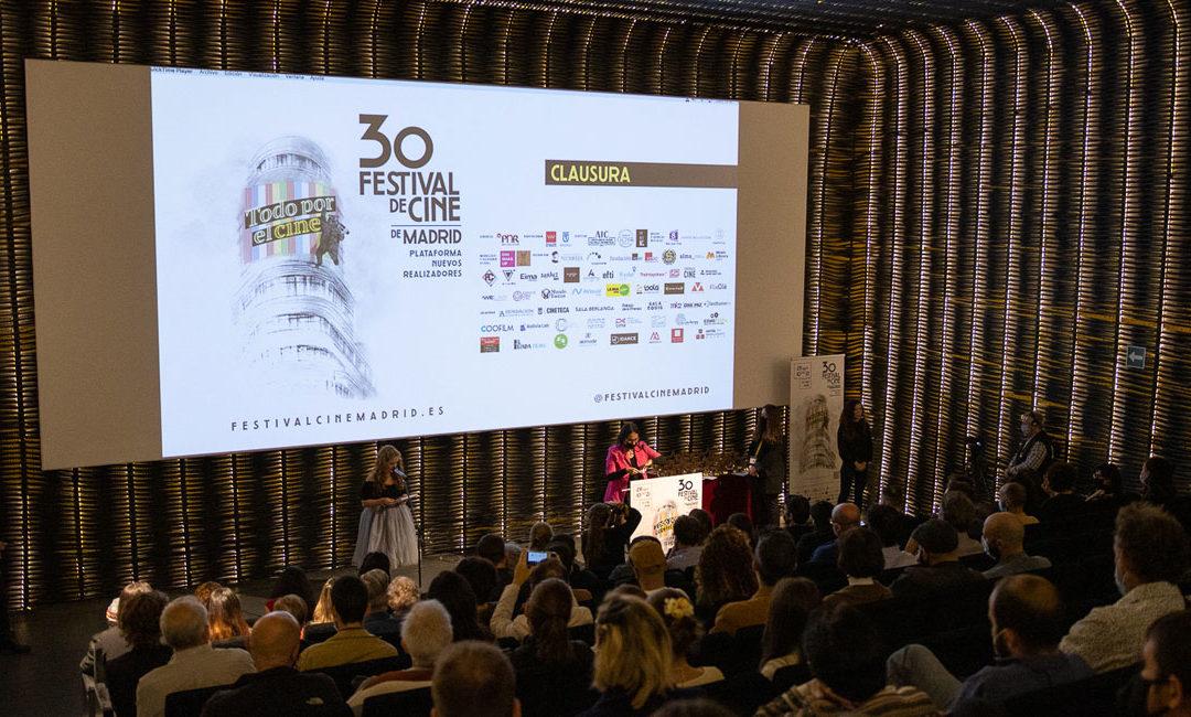 El Festival de cine de Madrid (FCM-PNR) anuncia el palmarés de su 30 edición, que se sigue celebrando online hasta el 16 de octubre